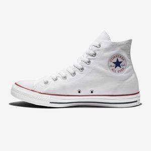 White Hi-Top Converse Sneakers